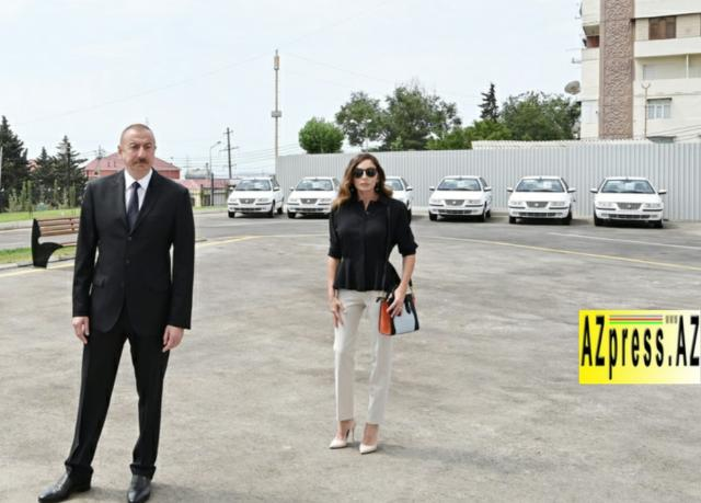 Ceremony to give out apartments and cars to families of martyrs and war disabled was held in Baku - PHOTO=30
