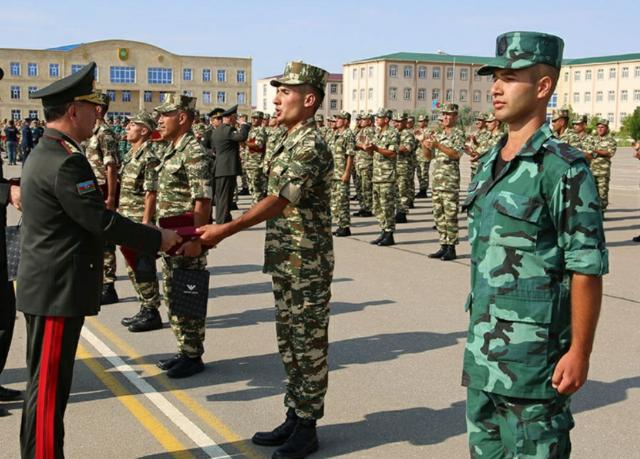 The graduation ceremony was held in the Nakhchivan garrison troops  - VIDEO+PHOTO=4