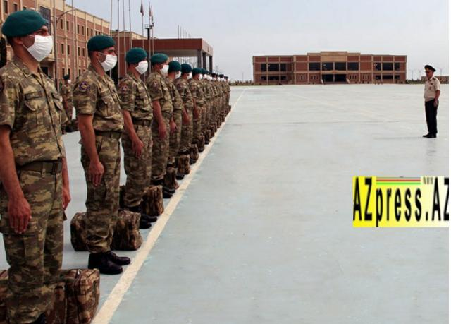 Group of Azerbaijani peacekeepers returned from Afghanistan - PHOTO=3