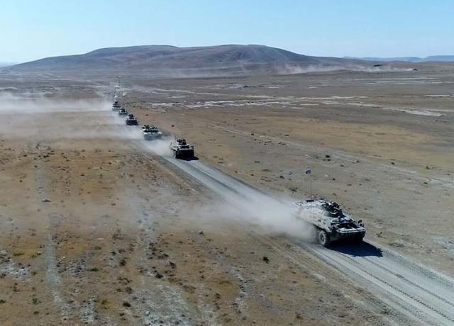 Another stage of the Azerbaijani-Turkish Joint Large-Scale Tactical Exercises completed (PHOTO, VIDEO)