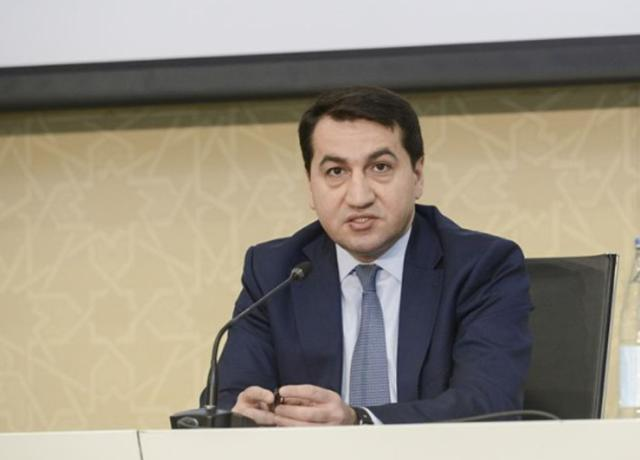 Statement by Hikmet Hajiyev, the Assistant to the President, Head of Foreign Policy Affairs Department of the Presidential Administration of the Republic of Azerbaijan