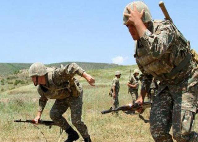 The positions of the Armenian army have been defeated