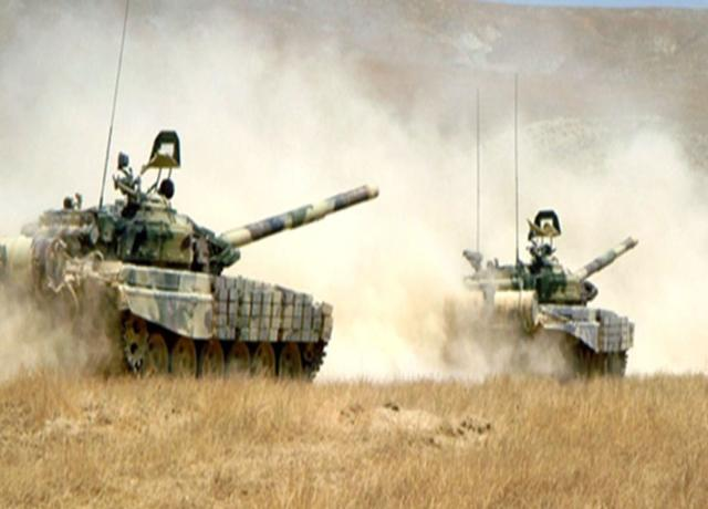 Armenian armed forces committed large-scale provocations along the entire length of the front