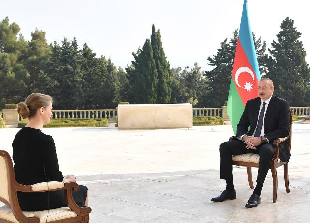 Ilham Aliyev was interviewed by Russian TASS news agency