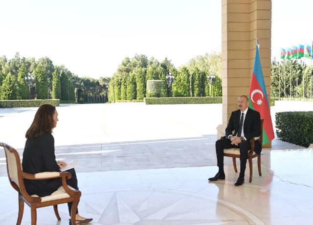 Ilham Aliyev was interviewed by France 24 TV channel -PHOTO=2+VİDEO