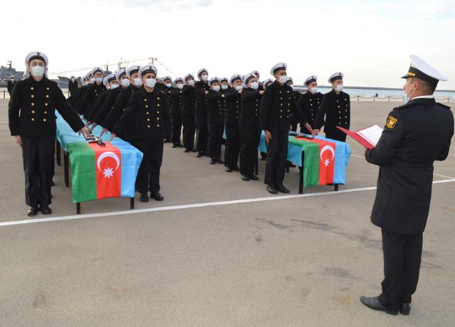 A Military Oath taking ceremony was held in the Naval Forces