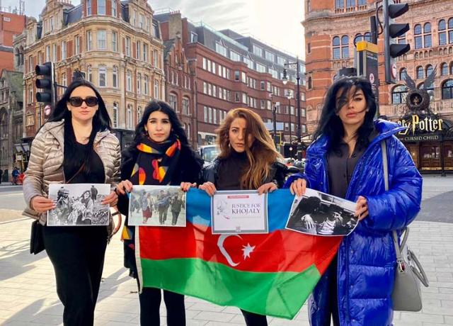 Khojali Happenings Commemoration in London, UK. 2021 - POTO
